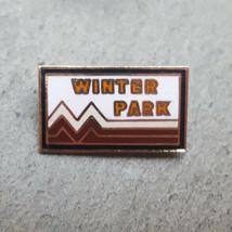 WINTER PARK Ski Skier Skiing Resorts Souvenir Lapel Hat Pin ~ Colorado CO - $9.99