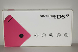 Nintendo DSi Launch Edition 256MB Pink Handheld System Game Console TWLSPA Mintt - $231.49