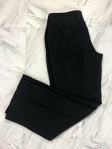 Women's Talbots Petites Black Dress Flare Pants Size 8P   - $12.34