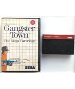 ☆ Gangster Town (Sega Master System 1987) SMS Game & Case Tested Working ☆ - $10.00