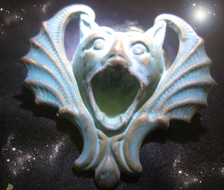 HAUNTED ANTIQUE PIN NO EVIL WILL EVER TOUCH ME AGAIN HIGHEST LIGHT OOAK ... - $10,937.77