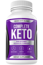 Complete Keto Weight Loss Diet Pills Fat Burner Supplement for Men Women... - $52.91