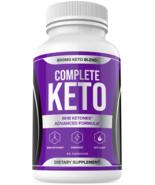 Complete Keto Weight Loss Diet Pills Fat Burner Supplement for Men Women... - $52.91