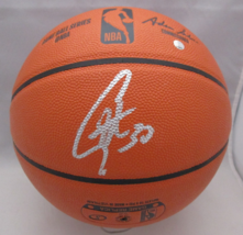 STEPHEN CURRY / G.S. WARRIORS / AUTOGRAPHED FULL SIZE NBA LOGO BASKETBALL / COA