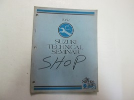 1982 Suzuki Technical Seminar Manual Factory Oem Dealership Book 82 Deal *** - $15.80
