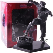 Marvel Black Panther Toys Action Figure PVC Collectible Model Toy-in Act... - $40.40