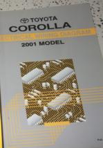 2001 Toyota Corolla Électrique Câblage Diagrammes Service Atelier Repair... - $34.51