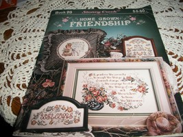 Stoney Creek Home Grown Friendship Book 93 Counted Cross Stitch - $10.00