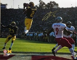 CHARLES WOODSON AUTOGRAPHED 16X20 PHOTO AND BECKETT COA #K40719 - $280.49
