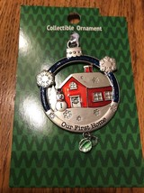 """Christmas Tree Ornament Collectible """" Our First Home"""" Ships N 24h - $16.81"""