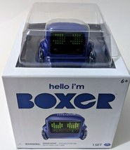 BOXER ROBOT,Interactive A.I. Robot Toy Blue with Personality and Emotions  - $46.74