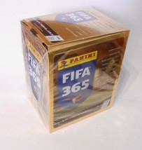 FIFA 365 2016 Panini Box 50 Packs Stickers Italian edition - $28.00