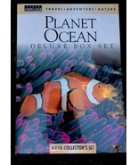 Planet Ocean Deluxe Box Set 4-DVD Colletor's Set Travel, Adventure, Nature - $8.63