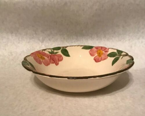 "Franciscan Desert Rose 8"" Round Vegetable Serving Bowl Arch California Stamp image 2"