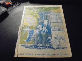 FOOM MAGAZINE # 6 * JUNE 1974 * GD- * AVENGERS BUTLER TELLS SECRETS! - $7.00