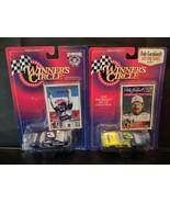 Dale Earnhardt 1997 & Junior 1998 Nascar Winners Circle 1/64 Diecast car... - $14.77