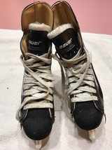Bauer Boys Hockey Ice Winter Skates Size 4 Rare Vintage Ships N 24h - $27.14