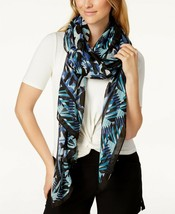 Calvin Klein Graphic Print Scarf & Sarong Airforce Blue - $44 - NWT - $11.88
