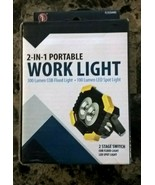 SE 2 in 1 Portable Work Light, FL9204WL (with batteries) and free shipping - $12.86