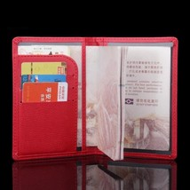 Passport Cover Travel Documents Holder Credit Card ID Case Travel Docume... - $9.80