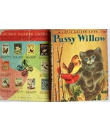 Pussy Willow 1951 Letter A 1st Edition Wise Brown Little Golden Book  #314 - $19.75
