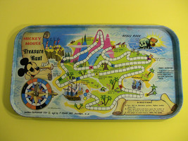 Vintage Disney World Mickey Mouse Treasure Hunt Game - $15.36