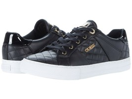Women's GUESS Loven Quilted Lace-Up Casual Low Top Sneakers image 2