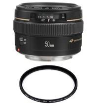 Canon Ef 50mm F1.4 Usm + Hoya 58mm Pro 1D Protector - $394.26