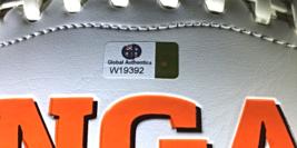A.J. GREEN - HAND SIGNED CINCINNATI BENGALS LOGO WHITE FOOTBALL - WITNESSED COA image 4