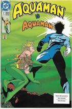 Aquaman Comic Book #7 Second Series DC Comics 1992 VERY FINE- - $1.99