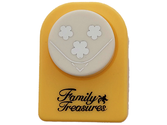 Family Treasures 3 Flowers with Rounded Corner Punch