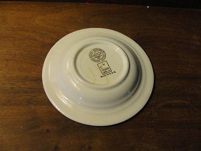 1948 National Brotherhood Operative Potters ashtray, AFL Union Label Exhib, old