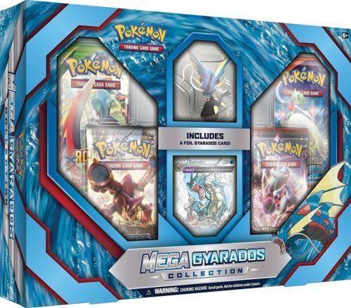 Mega Mewtwo X + Mega Gyarados Collection Pokemon TCG Booster Boxes Sealed