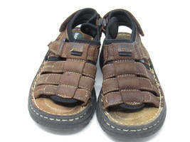 Boys Toddler Preschool Buster Brown Sandals Size 11M Leather - $16.33