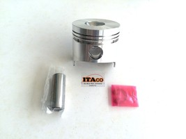 PISTON & w/ PIN, CIRCLIP 68MM fit Yanmar Diesel Engine Air cooled L40 L4... - $34.15