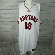 Toronto Raptors Jersey Mens 52 Anthony Parker Autograph NBA Basketball - $93.27