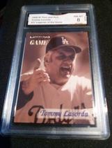 1998 fleer sports illustrated Tommy Lasorda GMA Graded 8 NM-MT baseball  17 - $7.75