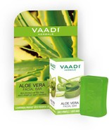 Vaadi Herbals Aloe Vera Facial Bars Skin with Extract of Tea Tree 25Gm P... - $9.53