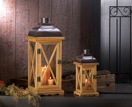 Hayloft Style Wooden Candle Holder Available in Larger Size - $24.95+