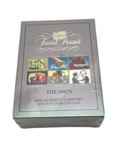 VTG Trivial Pursuit The 1980's Edition Replacement Card Add-On Master Se... - $16.83