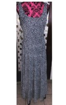 NWT $99 Nine West Maxi Dress Fit-Flared Sleeveless Tiered Size 8 - $69.29