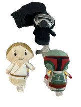 Lot Of 3 Hallmark Itty Bitty Plush Star Wars Boba Fett Mandalorian - $20.53