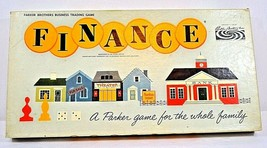 "Vintage Parker Bros. Business Trading Game ""Finance 1958 Complete - $39.99"