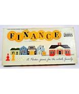 """Vintage Parker Bros. Business Trading Game """"Finance 1958 Complete - $39.99"""