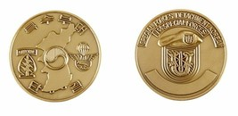 ARMY 11TH SPECIAL FORCES GROUP AIRBORNE 1ST SPECIAL FORCES BRONZE CHALLE... - $17.09