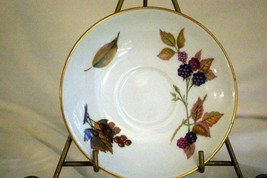 "Royal Worcester 2015 Evesham Gold Flared Saucer 6"" - $2.51"