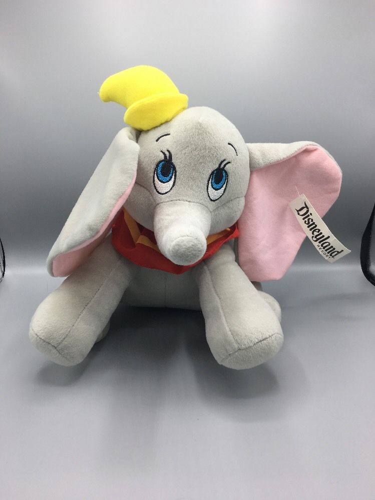 Disney Dumbo Disneyland Plush Stuffed Animal 13""