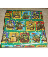TMNT KIDS TEENAGE MUTANT NINJA TURTLES Christmas Wrapping Paper 20 SQ FT... - $5.50+