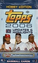 2006 Topps Updates and Highlights Hobby Box - Factory Sealed! - $53.92