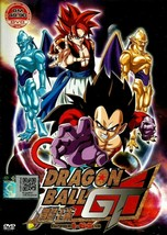 Dragon Ball GT Complete TV 1-64End English Dubbed All Region Ship From USA